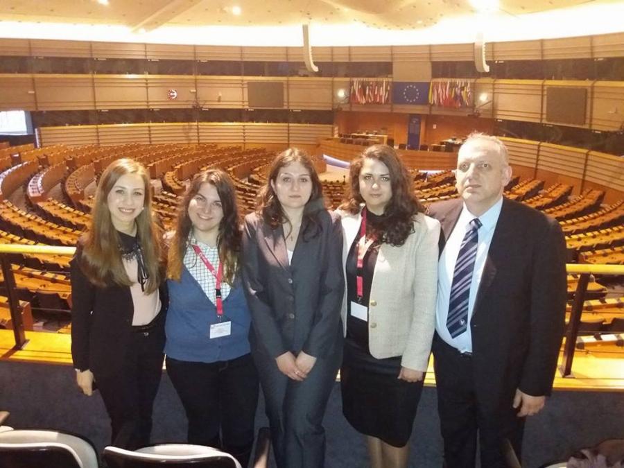 Студенти от Юридическия факултет участваха в Международна правна седмица в Льовен, Белгия